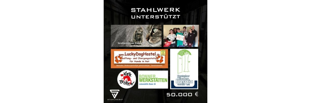 STAHLWERK Charity 2020 -