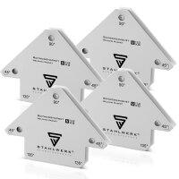4 x Magnet-Schweißwinkel 11,3 kg / 25 lbs