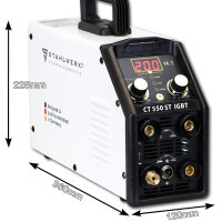 CT 550 ST IGBT - DC WIG/ MMA Plasma