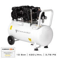 Air Compressor STAHLWERK ST 508 pro with aluminium tank