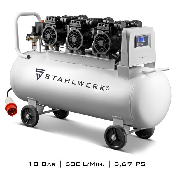 Druckluft Kompressor STAHLWERK ST 1010 Pro - 10 Bar