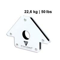 2 × Magnet-Schweißwinkel 22,6 kg / 50 lbs