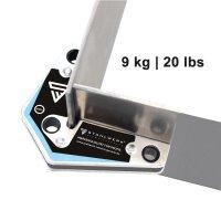 4 × Magnet-Schweißwinkel Set 20 lbs/ 9 kg