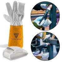 WIG-Finger / Hitzeschutz für Schweißerhandschuhe