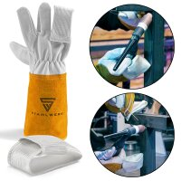 2 × TIG-Finger / Heat protection for welder gloves