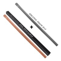 TIG welding filler rods STAHLWERK set: steel + stainless steel/Ø 1,6 x 500 mm/1 kg each