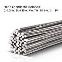 TIG welding filler rods STAHLWERK set: steel + stainless steel/Ø 1,6 x 500 mm/1 kg each