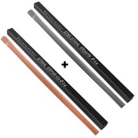 TIG welding filler rods STAHLWERK steel / stainless steel set / Ø 2,5/2,4 x 500 mm / 1 kg