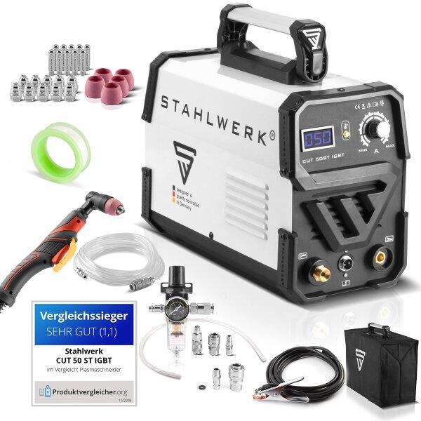 Plasma cutter CUT 50 ST IGBT - full equipment set