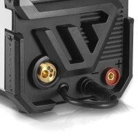 MIG 200 ST IGBT-Schweißgerät mit synergischem Drahtvorschub und echten 200 Ampere - Vollausstattung