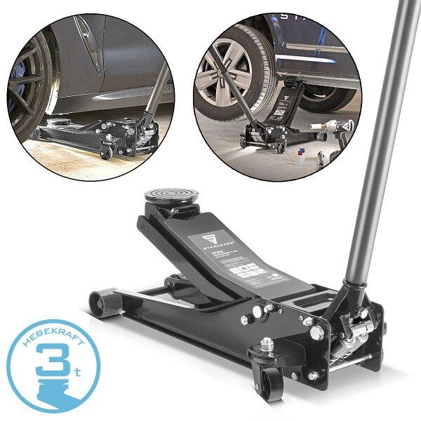 Hydraulic car jack aluminium-stainless steel