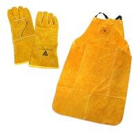 Conjunto de ropa de protección para soldar -...