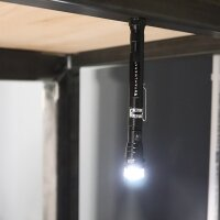 Magnetic work lamp with gooseneck