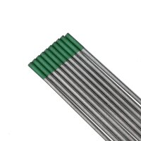 Tungsten electrodes 2.4 mm x 175 mm 100% Tungsten (WP)...