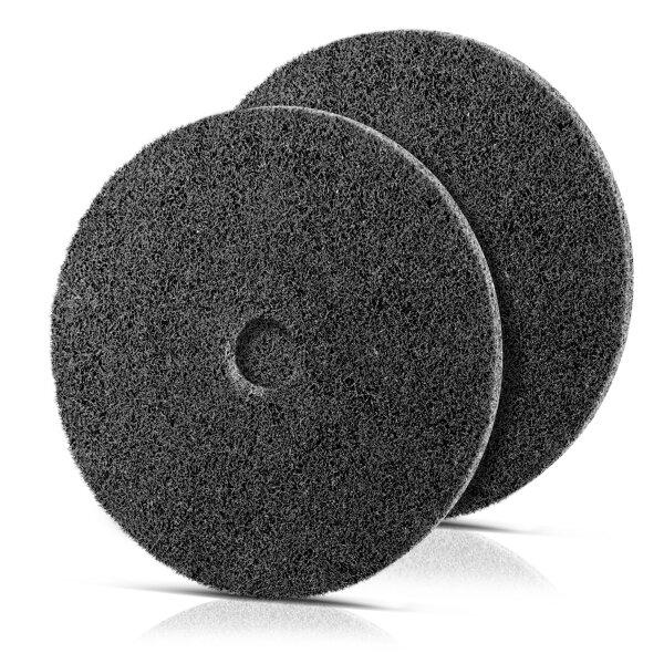 Disco abrasivo fieltro nailon conjunto de 2