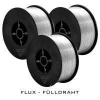 3 x MIG MAG Premium Flux cored wire E71T-GS Ø 0,8...