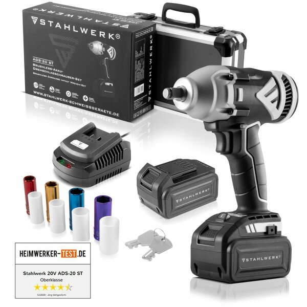 Brushless Cordless Impact Wrench 20V ADS-20 ST