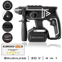 Brushless Akku Bohrhammer ABH-20 ST 20V/4Ah
