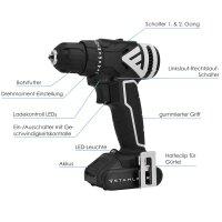 Brushless Cordless Drill ABS-12 ST 12V/2Ah