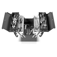 Metal tool box 5 compartments