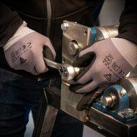 STAHLWERK nitrile work gloves size XL 5-pack