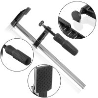 STAHLWERK F-clamp Set of 5 DIN 5117 50 x 250 mm