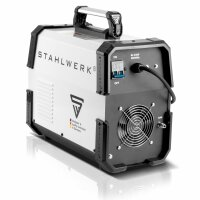 STAHLWERK AC/DC TIG 200 pulse with plasma ST welding machine with 200 A TIG & MMA, suitable for aluminium & thin sheet metal, combination unit with 50 Amp CUT function
