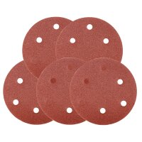 Grinding discs P120 with 120 grain set of 5