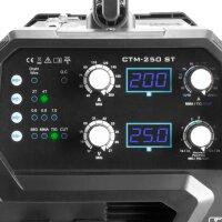 STAHLWERK CTM-250 ST Soudeuse combinée TIG + MIG/MAG + MMA + CUT équipement complet
