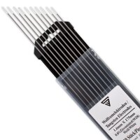 STAHLWERK Electrodos de Tungsteno 1.6 WZ8 Blanco Juego de 10