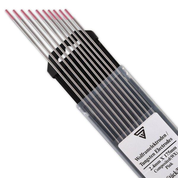 STAHLWERK Electrodes Tungstène WX 2.4 mm Rose