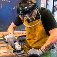 STAHLWERK face shield - Protects the face during grinding work.