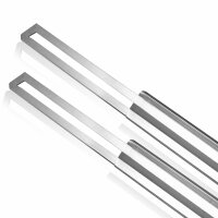 Set of 2 replacement blades 150 mm for polystyrene and...