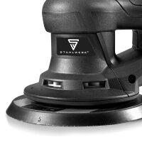 STAHLWERK ES-150 ST Kompakter Brushless Exzenterschleifer / Handschleifer mit 350 Watt