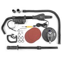 STAHLWERK TS-710 ST Trockenbauschleifer / Langhalsschleifer mit 710 Watt und Teleskopstange