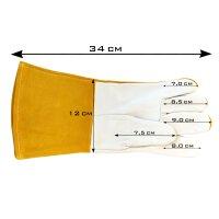 Schweißerschutzhandschuhe aus Echt-Leder