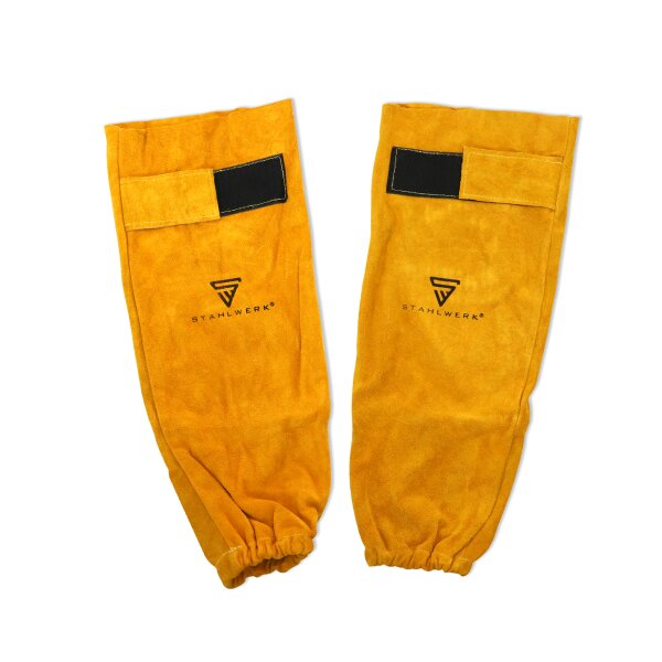 Welders arm protection real leather