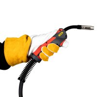 MIG MAG WELDING TORCH MB 15 AK with 5 Meter Cable EURO...